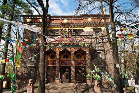 храмы соборы Петербурга - Буддийский храм