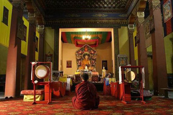 храмы соборы Петербурга - Буддийский храм 2